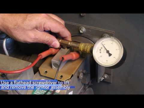 How To Clean Industrial Burner Ignitor Assembly
