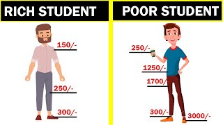 Poor Student Vs Rich Student - ये वीडियो आपकी आखे खोल देगी - Mindset