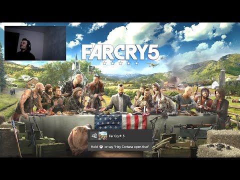 Far Cry 5 Gold Edition - Midnight release/ Launch Livestream Play-through! !
