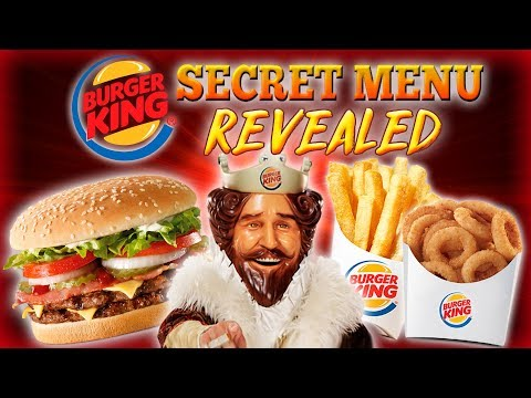 Top 10 facts about BURGER KING 👑 SECRET MENU EXPOSED! 🍔