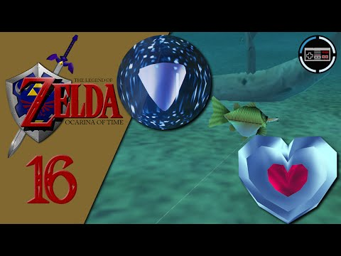 Let's Play The Legend of Zelda Ocarina of Time #16 - Scarecrow Song, Fishing Pond & Silver Scale