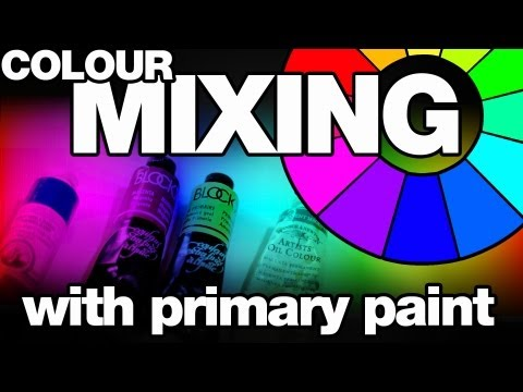 Colour: Mixing with Primary Paint