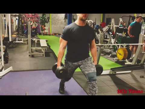 Standing Lunges - Dumbbell Lunges - Legday
