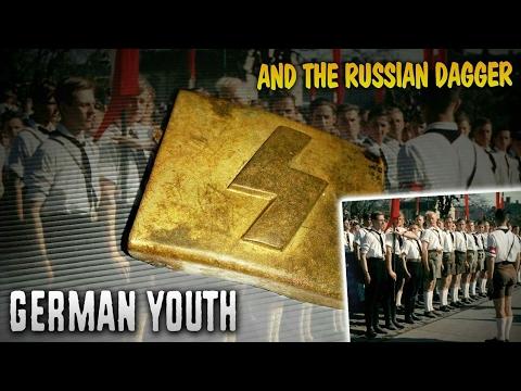 Hidden Treasures of WWII Metal detecting - Hitler Youth belt buckle.