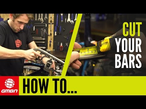 How To Cut Your Handlebars - Get Your Perfect Bar Width