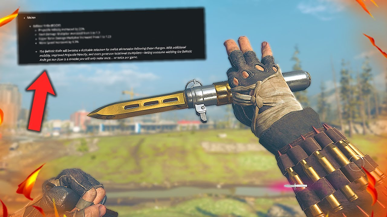THE BALLISTIC KNIFE IS NOW BETTER THAN EVER!! (SEASON 4)
