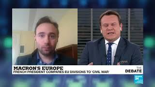 Yascha Mounk and Dominik Tarczynski exchange views on sovereignty within Europe