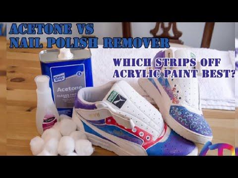 Acetone Vs. Nail Polish Remover!