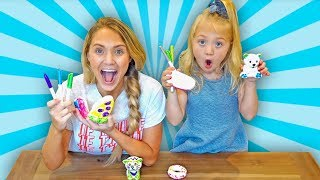 Download Make Your Own Squishy Toy 3 Marker Challenge!!! Video