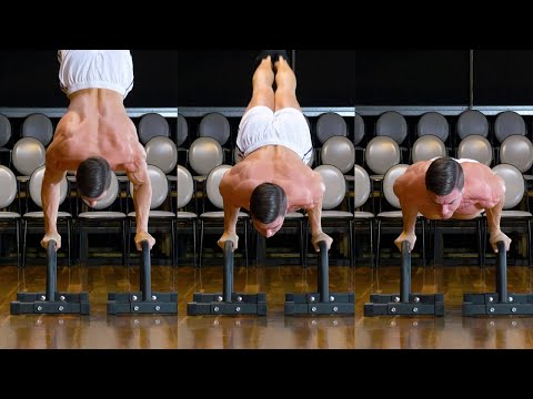 THE HARDEST PUSHUP EVER  - 3 Step Tutorial