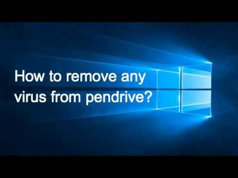 How to remove shortcut virus from pendrive Windows 10