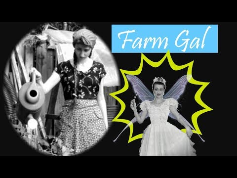 Farm Gal | Silent Film By AliciaVintage 2018 | + Behind The Scenes At The End