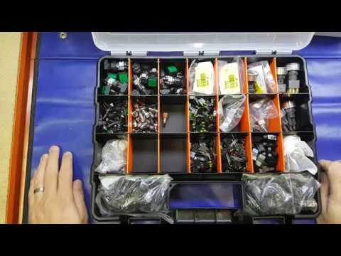 A quick look at a great electronic components storage solution from Homebase and Bunnings (review)