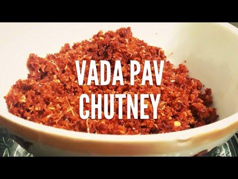 Vada Pav Chutney | लहसुन की सूखी चटनी | Dry garlic chutney | Maharashtrian style chutney
