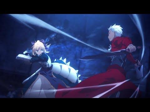 Archer Solo: VS Saber - Kara no Kyoukai Event (空の境界) [Fate/Grand Order (フェイト/グランドオーダー)]