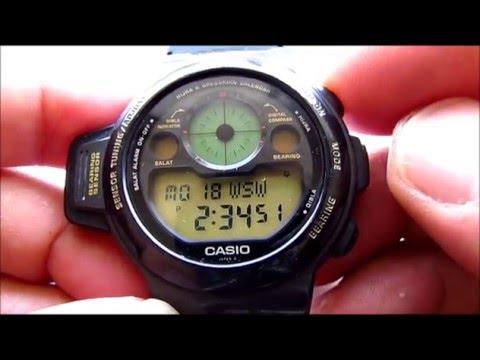 Casio CPW 300 Islamic Prayer Compass Watch