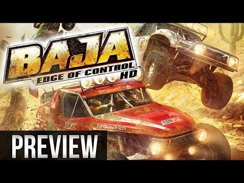 Baja: Edge of Control HD - Gameplay / Preview - Xbox One