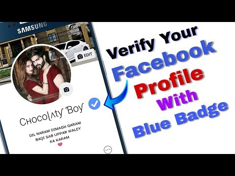 How To Verify Your Facebook Profile With Blue Badge//Android Tech Guru