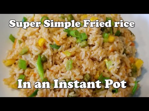 EASY Fried Rice In Instant Pot | Instant Pot Fried Rice | Pressure Luck 101