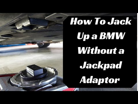 How To Jack Up Any BMW Without a Jackpad Adaptor