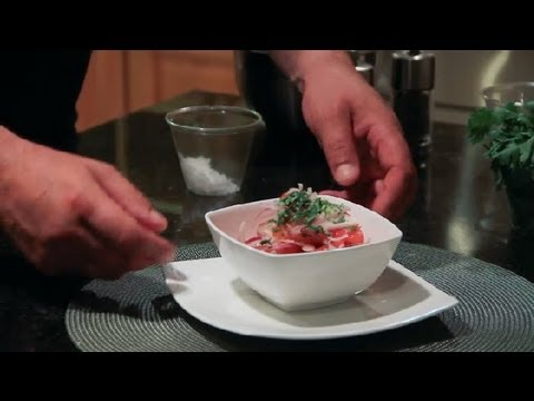 Indian Tomato & Onion Salad : Indian Recipes