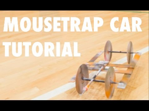 How To Make A Mousetrap Car (EASY)
