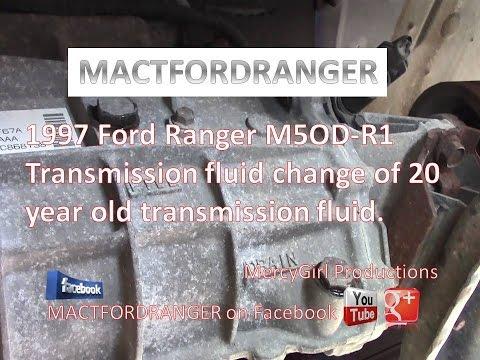 1997 Ford Ranger M5OD R1 20 yr old transmission fluid change EP#2
