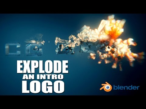 Create a Logo Explosion Animation - Blender Tutorial