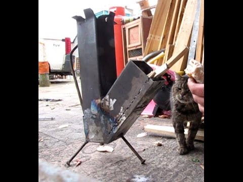 Make a Rocket Stove for under $10 Easy DIY Welding Project