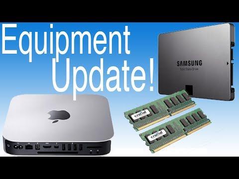 Mac mini fully upgraded! (Processor+Ram+SSD!)