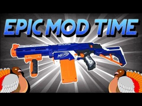 EpicModTime | Nerf Retaliator | Happy Thanksgiving!