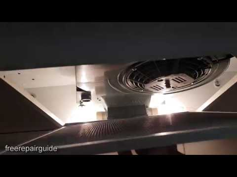 Westinghouse Rangehood: How to Install Carbon Filter ARCFD