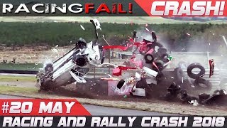 Racing and Rally Crash Compilation Week 20 May 2018 | Rally de Portugal