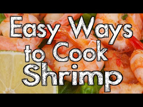 Easy Ways to Cook Shrimp