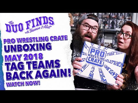 Pro Wrestling Crate May 2018