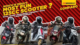 125cc Mega Scooter Comparison | Which Is India's Most Fun 125cc Scooter? | ZigWheels.com