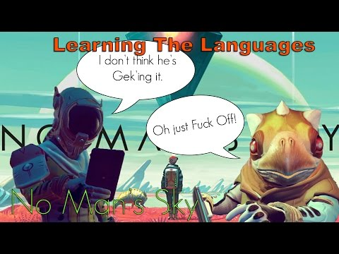 No Man's Sky Tips & Tricks How To Learn Languages Fast Guide!