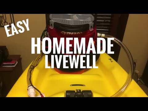 Kayak Fishing 101: How to Build a Yak Angler's Bucket Livewell & Tackle Storage System