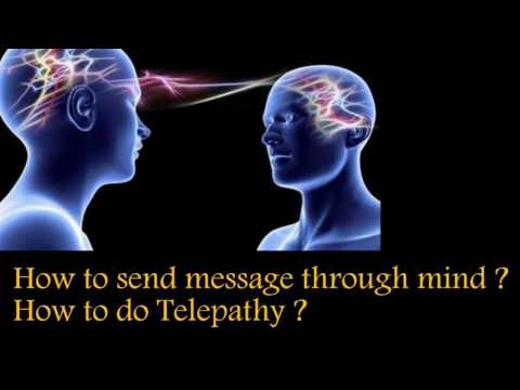 டெலிபதி எப்படி  செய்வது ? | Telepathy in tamil