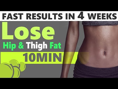 4 Simple Exercises to Lose Hip Fat Fast || Hip Fat Loss Workout || @danceteam
