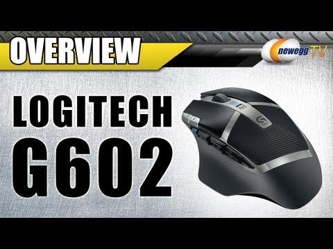 Logitech G602 Wireless 2500 dpi Gaming Mouse Overview - Newegg TV