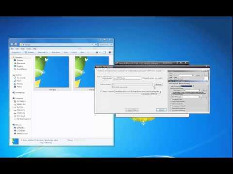 Batch & Print Pro - Print JPEG's to PDF test - Adobe PDF Driver