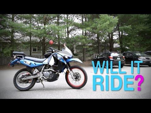 WILL IT RIDE? Kawasaki KLR 650 Dual Sport