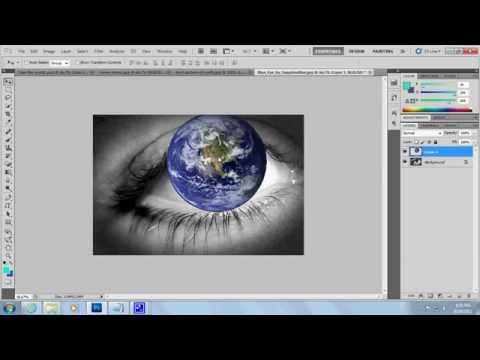 How to make a cd, book, etc cover on photoshop cs5, tutorial 1/2