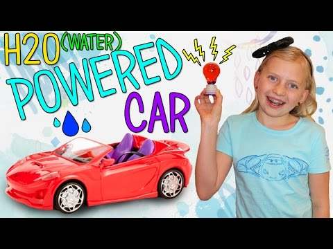 Water Activated RC Car & DIY Light Bulb!! Project MC2 Fun with Alyssa!