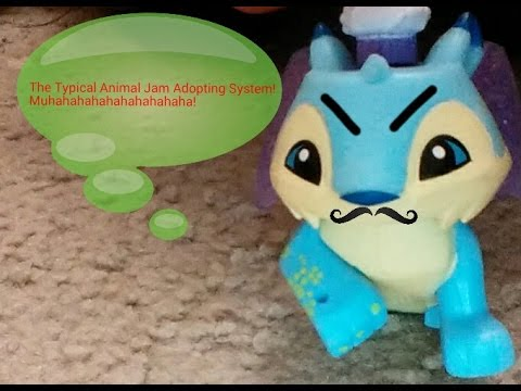 The  Typical Adopting System in Animal Jam (Toys)