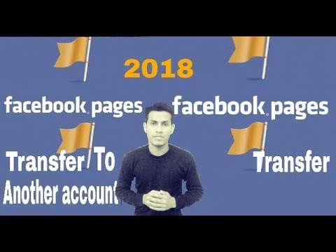 How to Transfer Facebook Page to Another Facebook Account |Hindi|