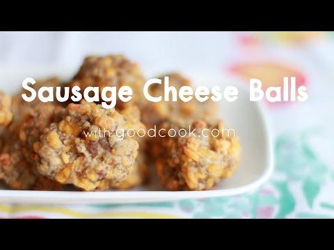 Sausage Cheese Balls   Good Cook