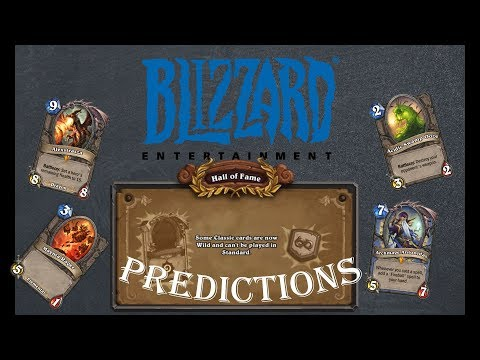 Hearthstone Theory: 2018 Hall of Fame Predictions
