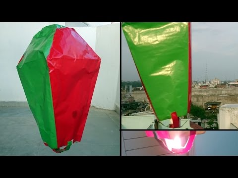 How to Make Paper Hot Air Balloon -- Easy Way